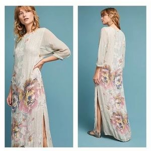 ANTHROPOLOGIE MAXI DRESS OR GOWN $80 size S